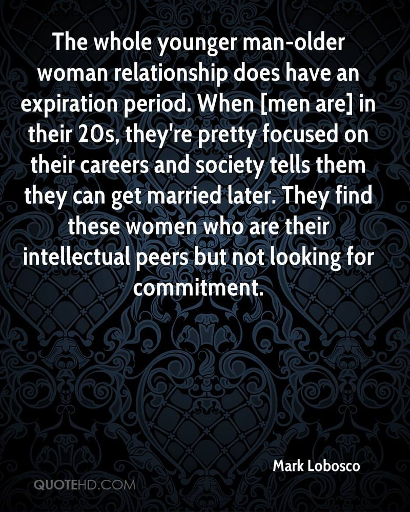 Mature women with men