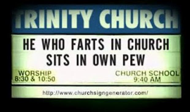 Quotes about Church funny (34 quotes)