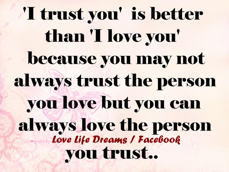 You trust person can How Do
