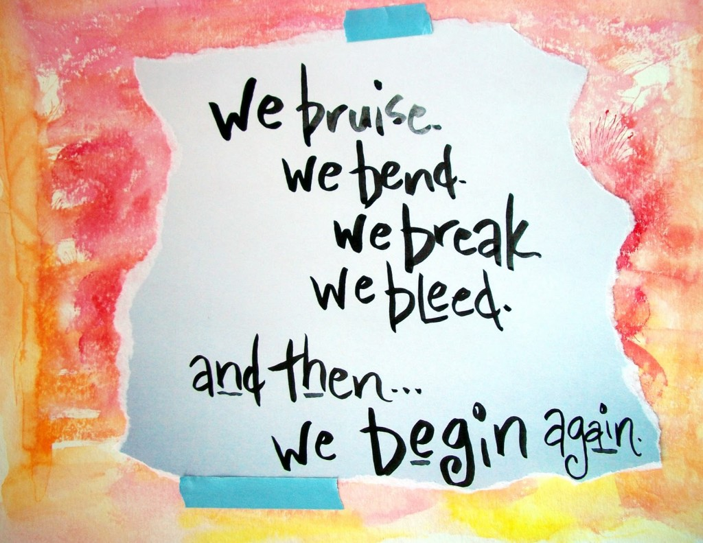 Quotes About Beginning Again 84 Quotes