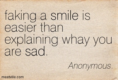 quotes about smile when your sad quotes