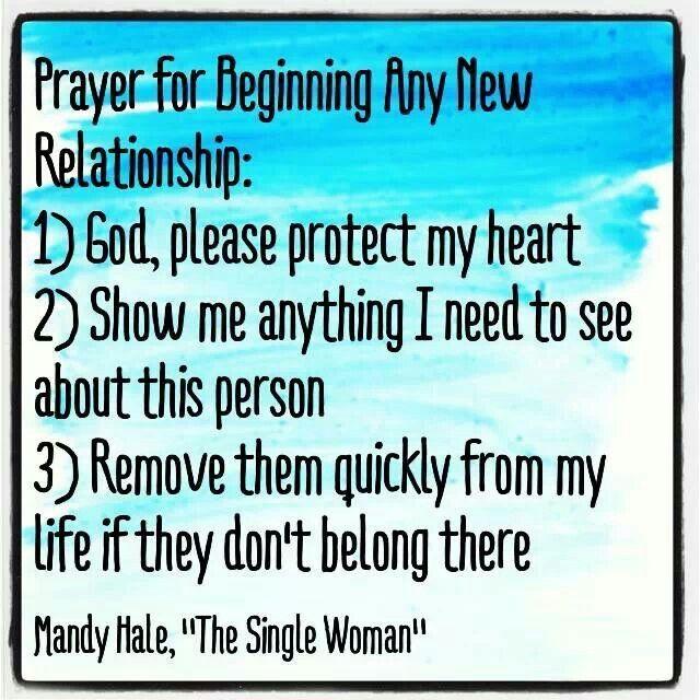 Prayer for romantic relationship