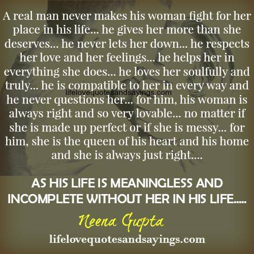 Quotes About Man Loving A Woman 36 Quotes