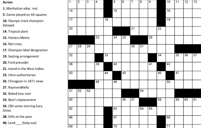 Quotes About Crossword 89