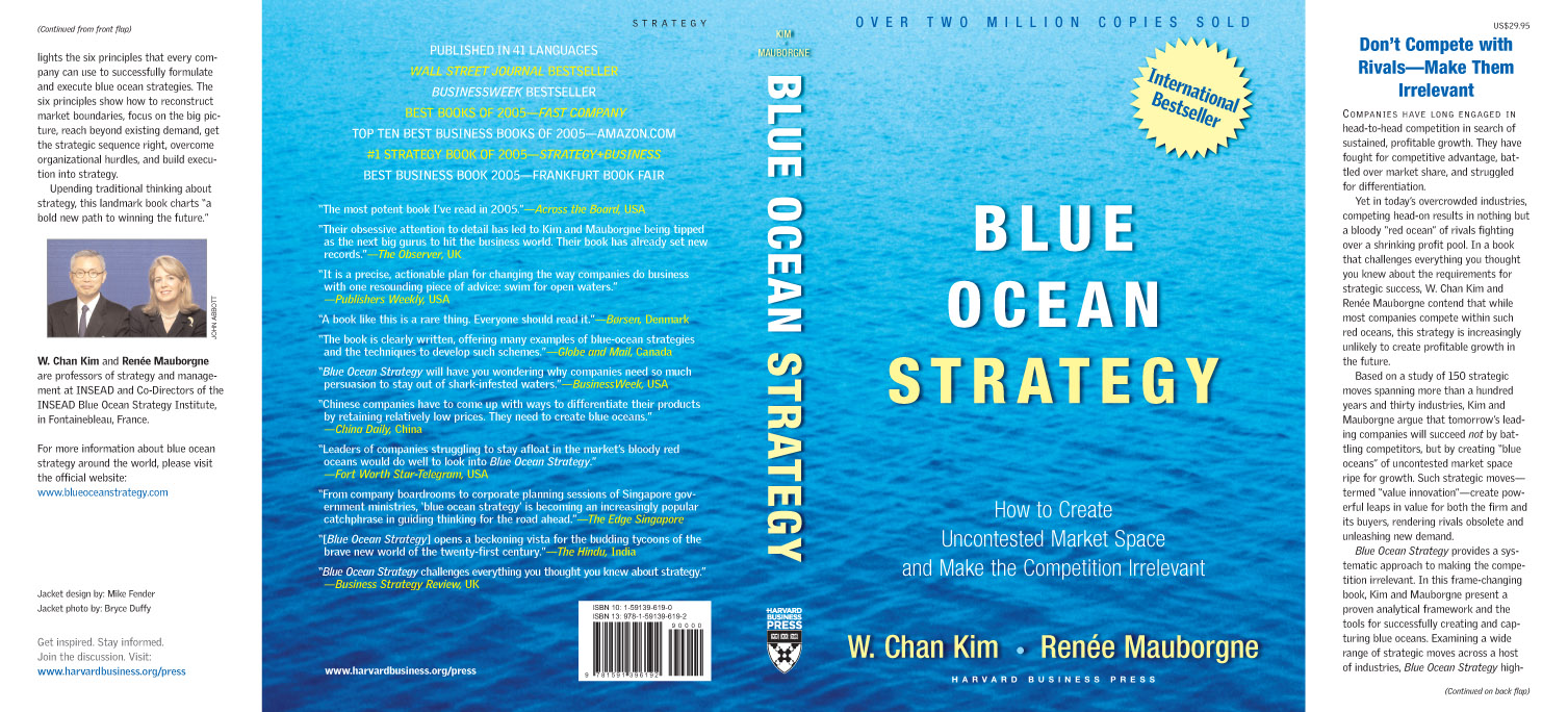 blue ocean strategy is an outcome of analysis A strategy for third-party logistics we introduce the framework of the analysis, the blue ocean strategy  it can result in a disastrous outcome for cj.