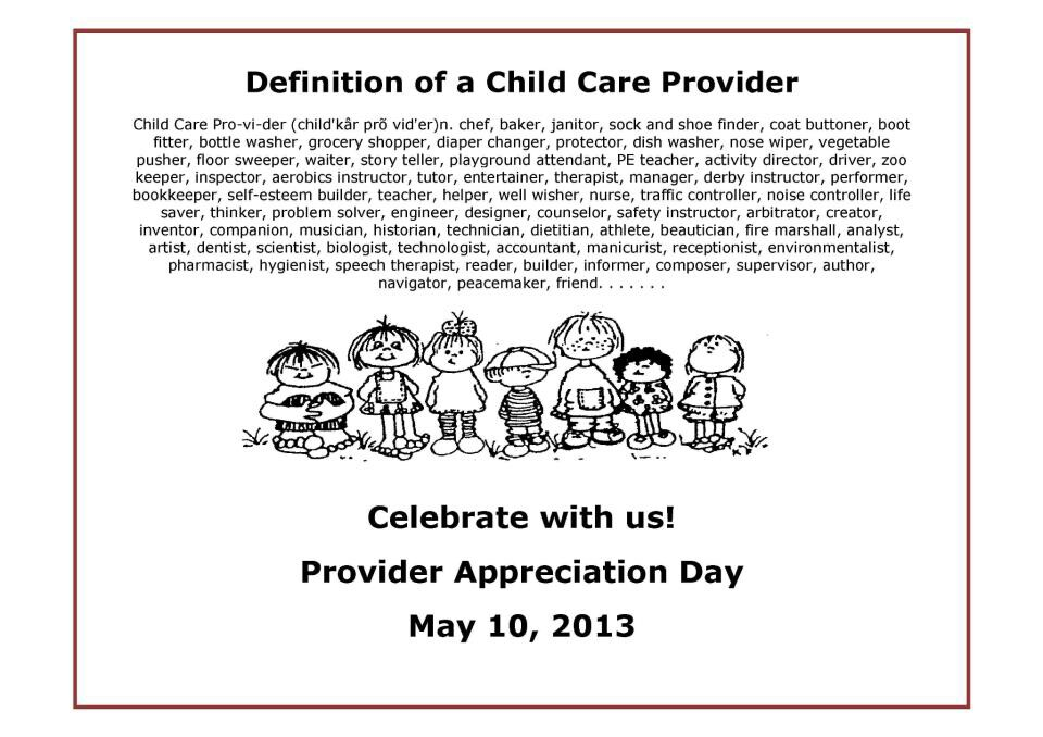 Quotes About Child Care Providers 21 Quotes