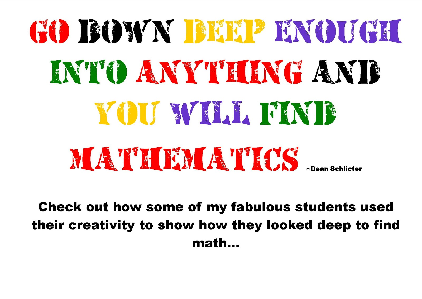 Quotes about Math for students (29 quotes)