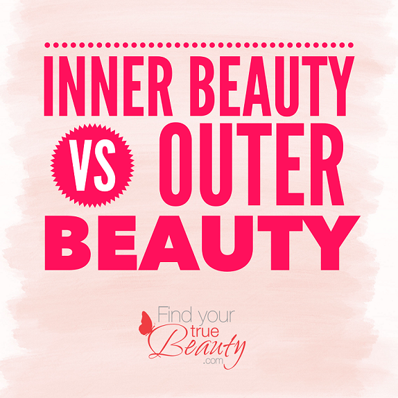 all about the inner beauty Inner beauty vs outer beauty inner and outer beauties are both needed to feel good about you together, they make you who you are while outer beauty gives off a more physical effect on the body, inner beauty has more of a psychological effect on the mind.