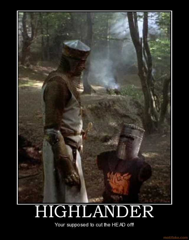 Quotes About Monty Python 60 Quotes Enchanting Highlander Quotes