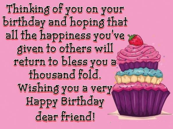 Quotes about Birthday and friendship (20 quotes)
