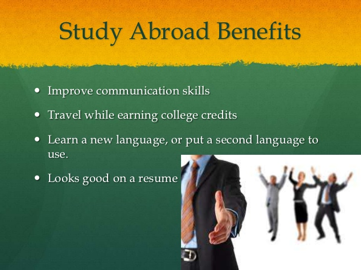 is studying abroad beneficial essay