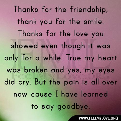 Love thanks you i 125 Heartfelt
