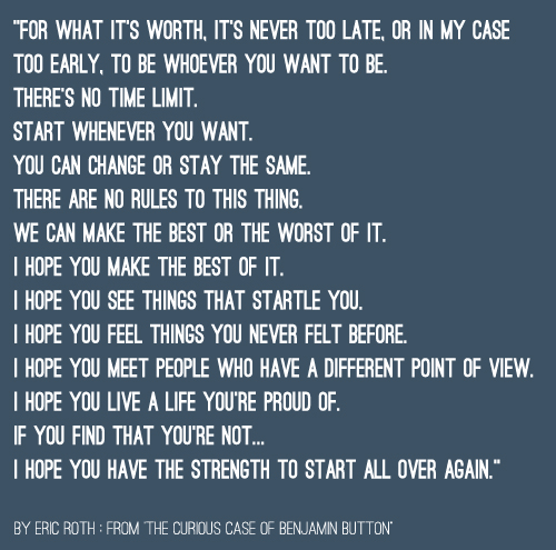 Quotes About Never Too Early 48 Quotes
