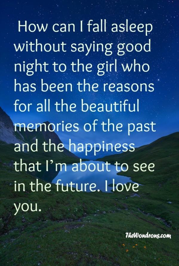 Messages sad night Goodnight Paragraphs