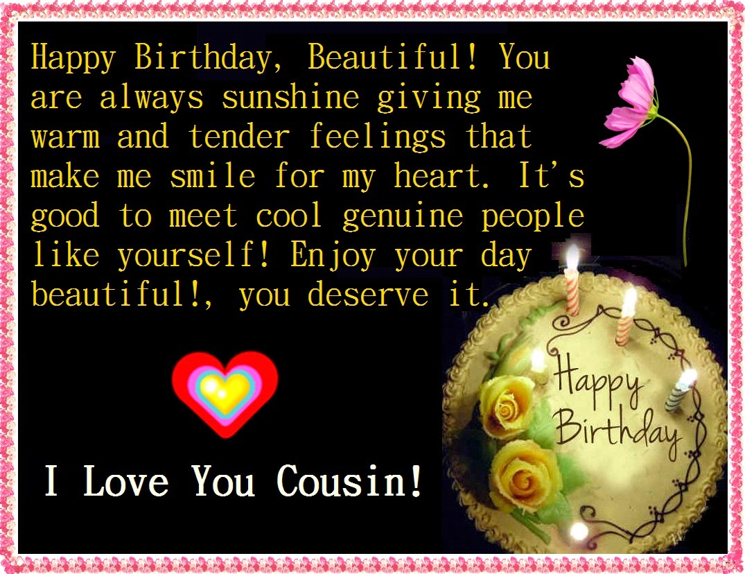 Quotes about my cousin birthday 23 quotes m4hsunfo