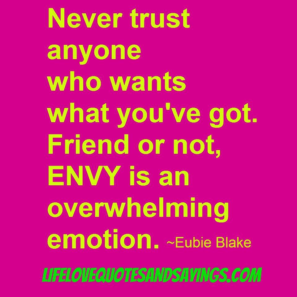 Status anyone never trust Sad Quotes