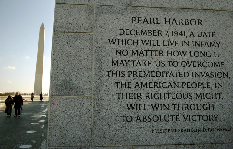 quotes about attack on pearl harbor quotes