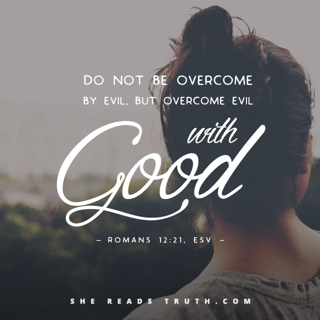 evil can never overcome goodness illustrated in The logical problem of evil claims that god's omnipotence, omniscience and supreme goodness would completely rule out the possibility of evil and that the existence of evil would do the same for the existence of a supreme being.