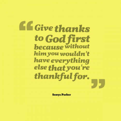 quotes about thanks to god quotes