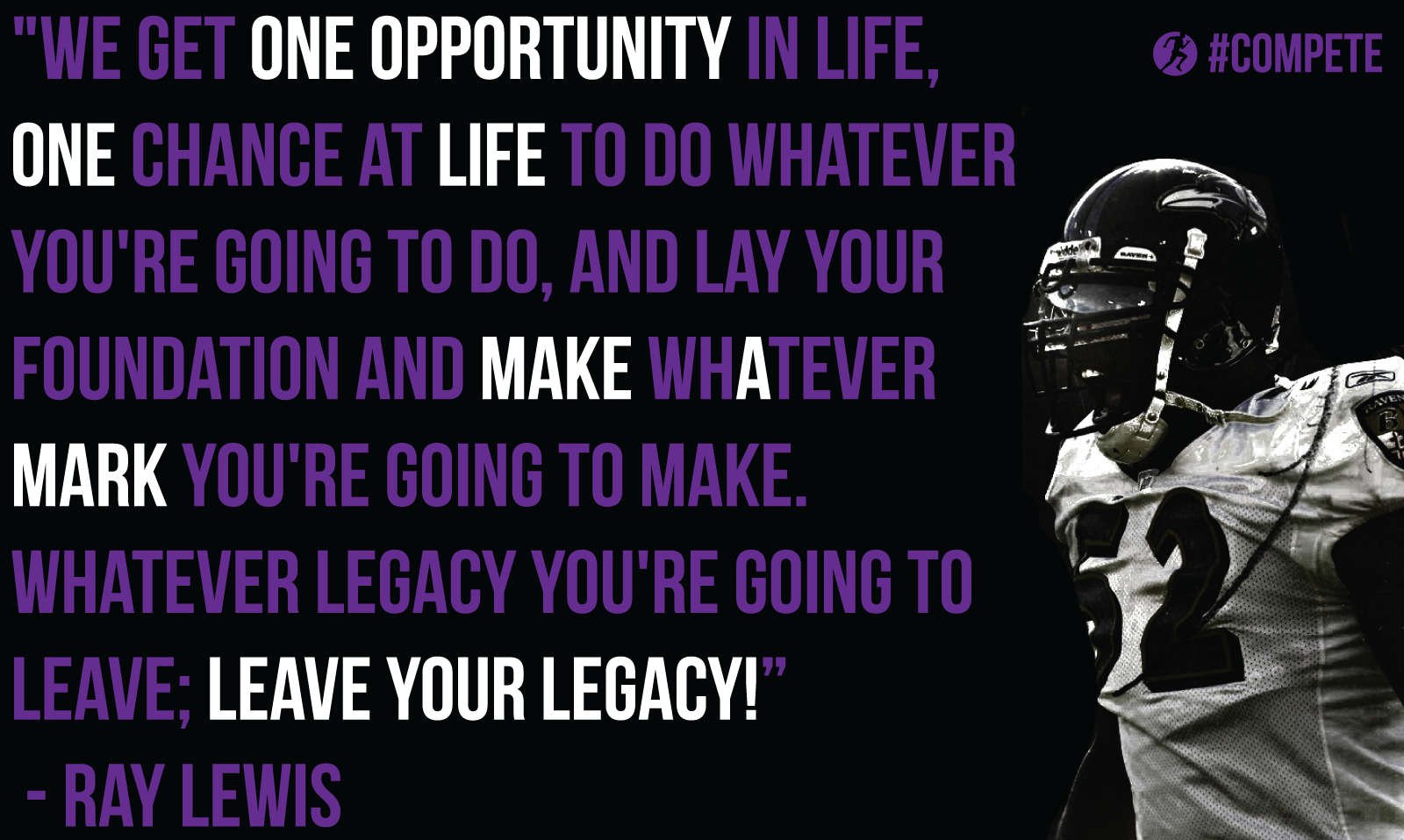 Ray Lewis Quotes About Effort: Quotes About Effort In Football (22 Quotes