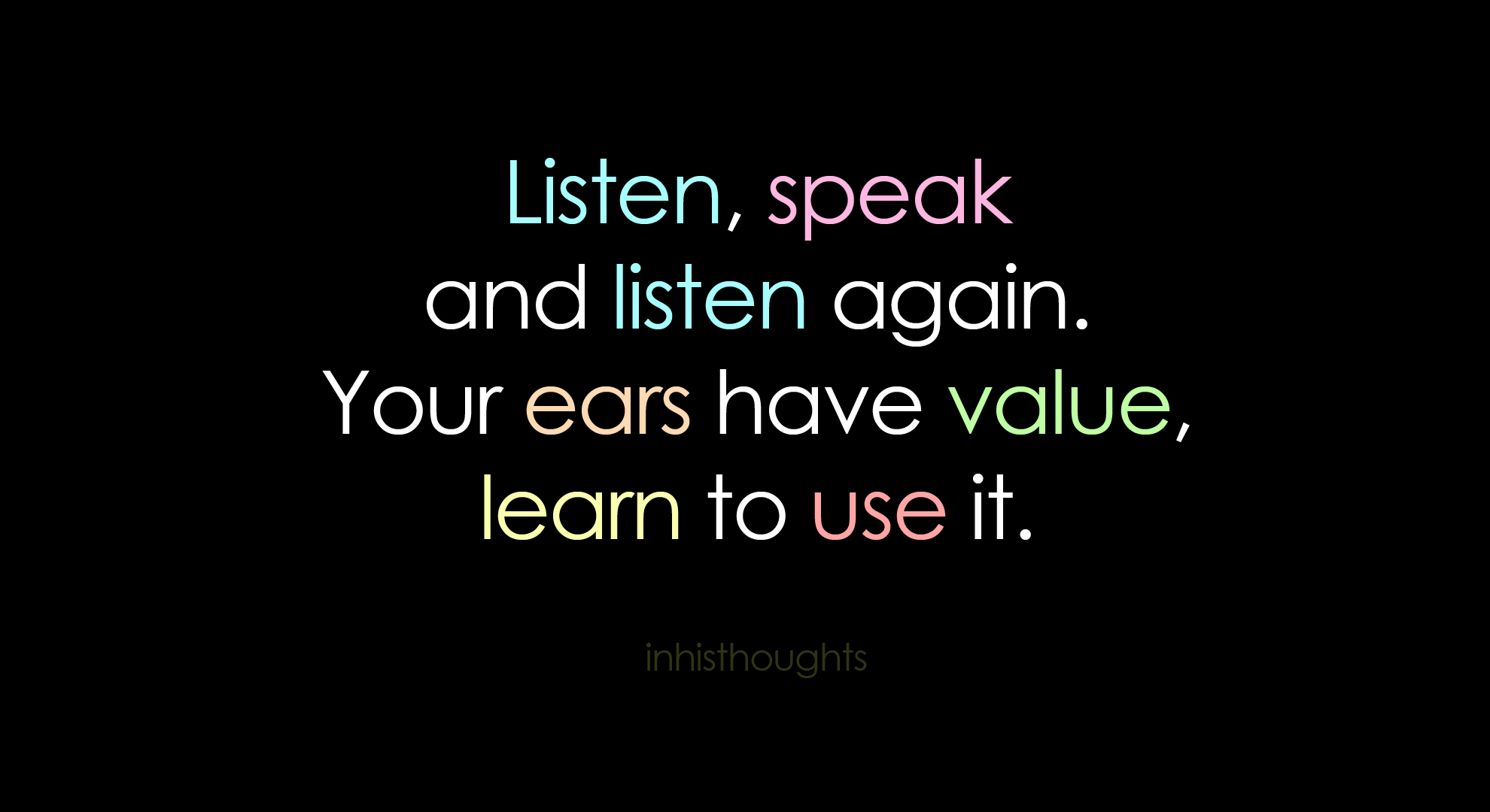 Quotes About Hearing And Listening 51 Quotes