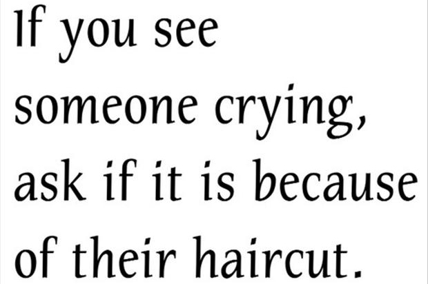 Quotes about Cutting Of The Hair (21 quotes)