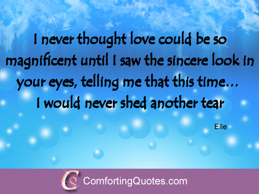 Quotes about sincerity and love