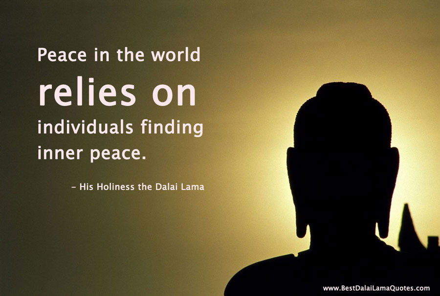 Quotes about Inner peace dalai lama 15 quotes