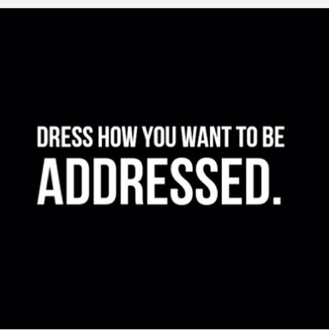 dress classy not trashy