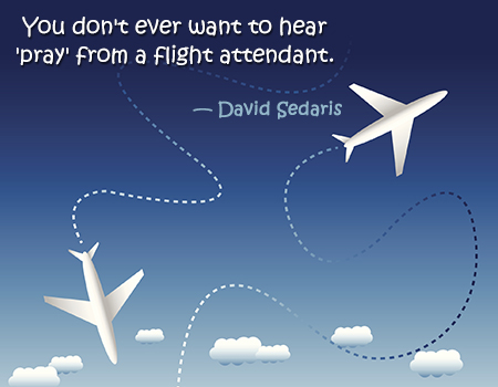 Quotes about Flight attendant (42 quotes)