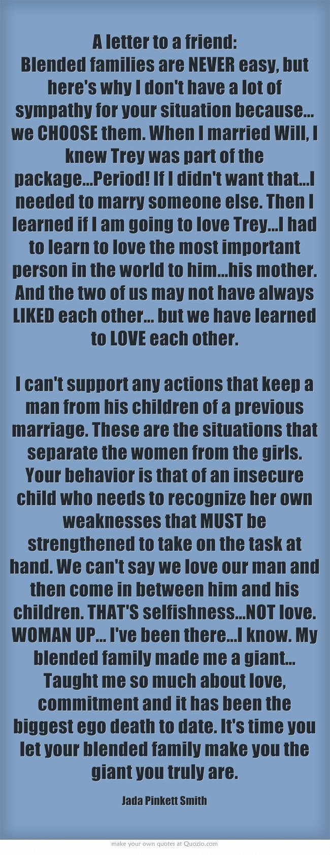 Quotes about Blended Families (37 quotes)