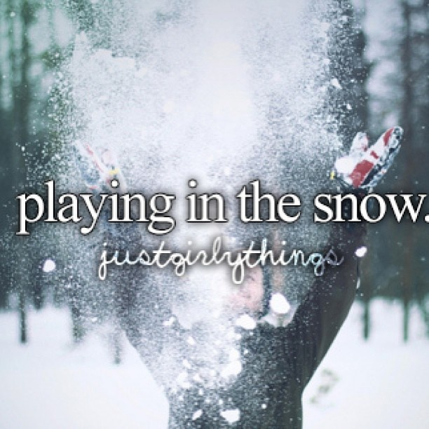 Snowy Love Quote