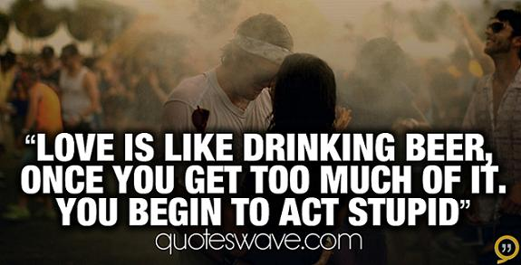 Quotes About Alcohol In College 19 Quotes
