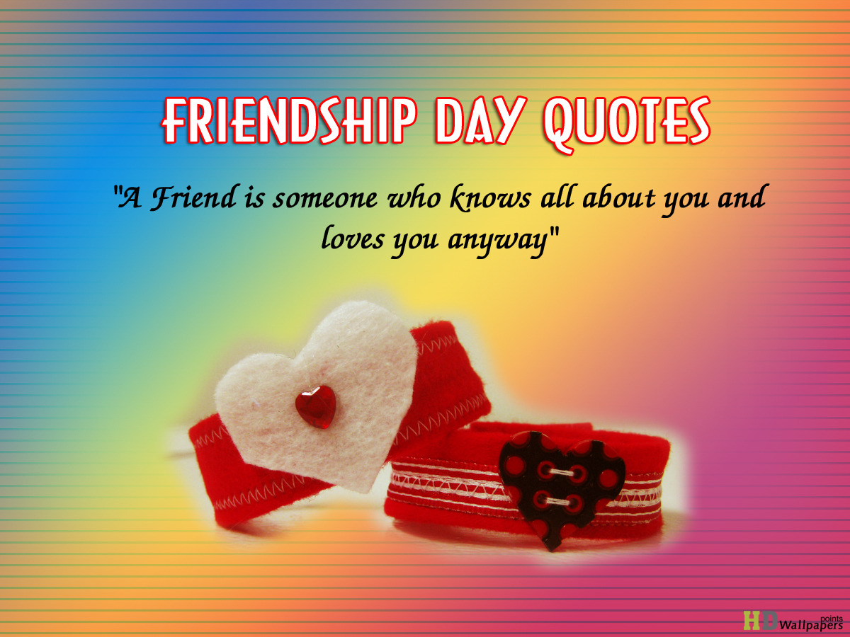 Quotes about Friendship day (5 quotes)
