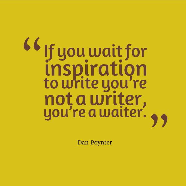 Quotes about Inspirational writing (32 quotes)