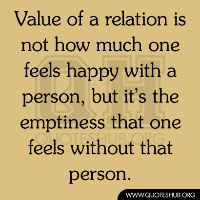 Quotes About Value In A Person 92 Quotes