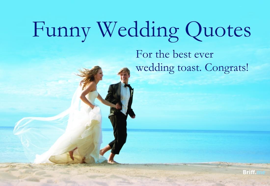 Bride And Groom Quotes Funny | Wedding Ideas