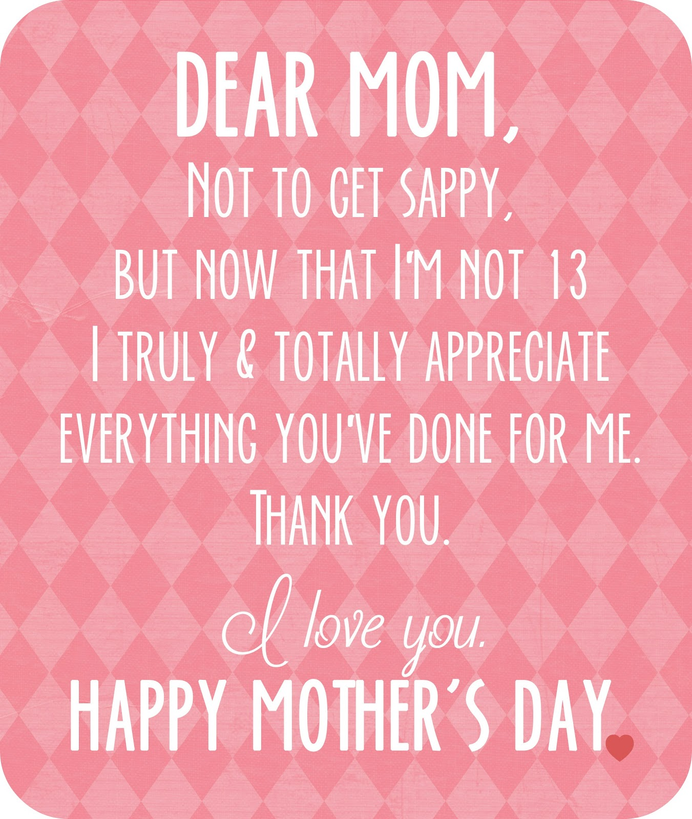 Quotes About Appreciating My Mom 33 Quotes
