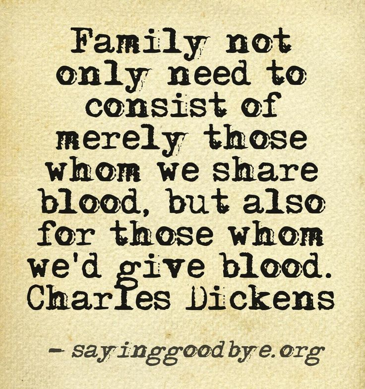 Quotes about Blood and family (67 quotes)