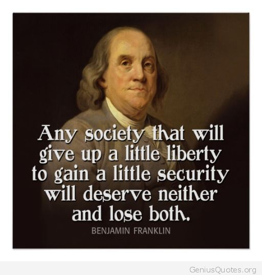 Quotes about Security and liberty (83 quotes)