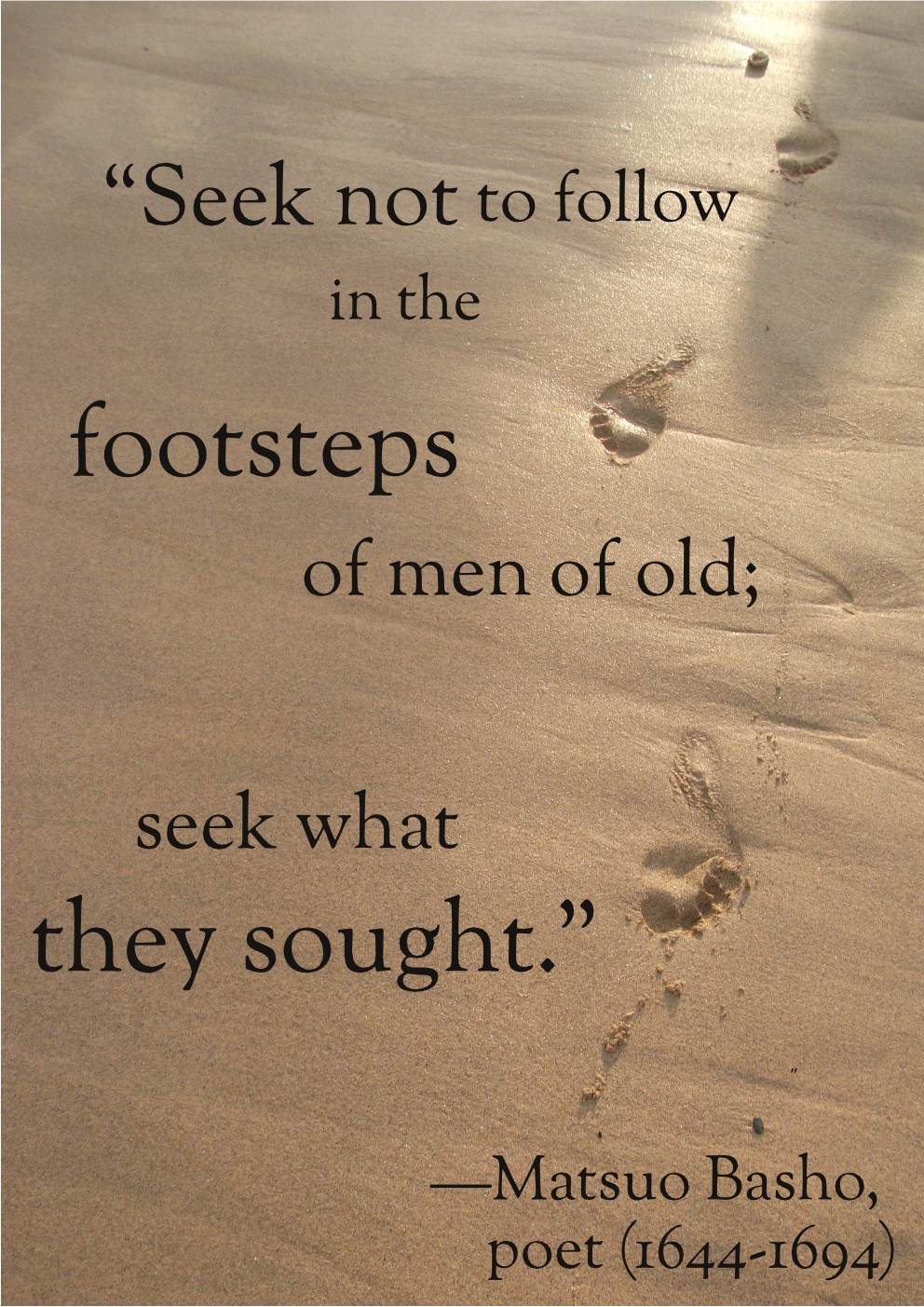 Quotes About Footsteps 195 Quotes
