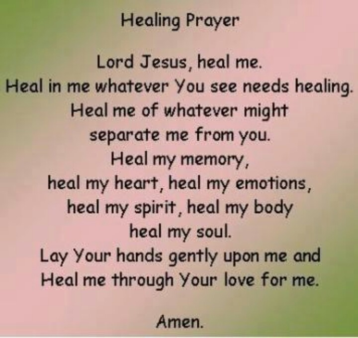 Quotes about Praying for healing (29 quotes)