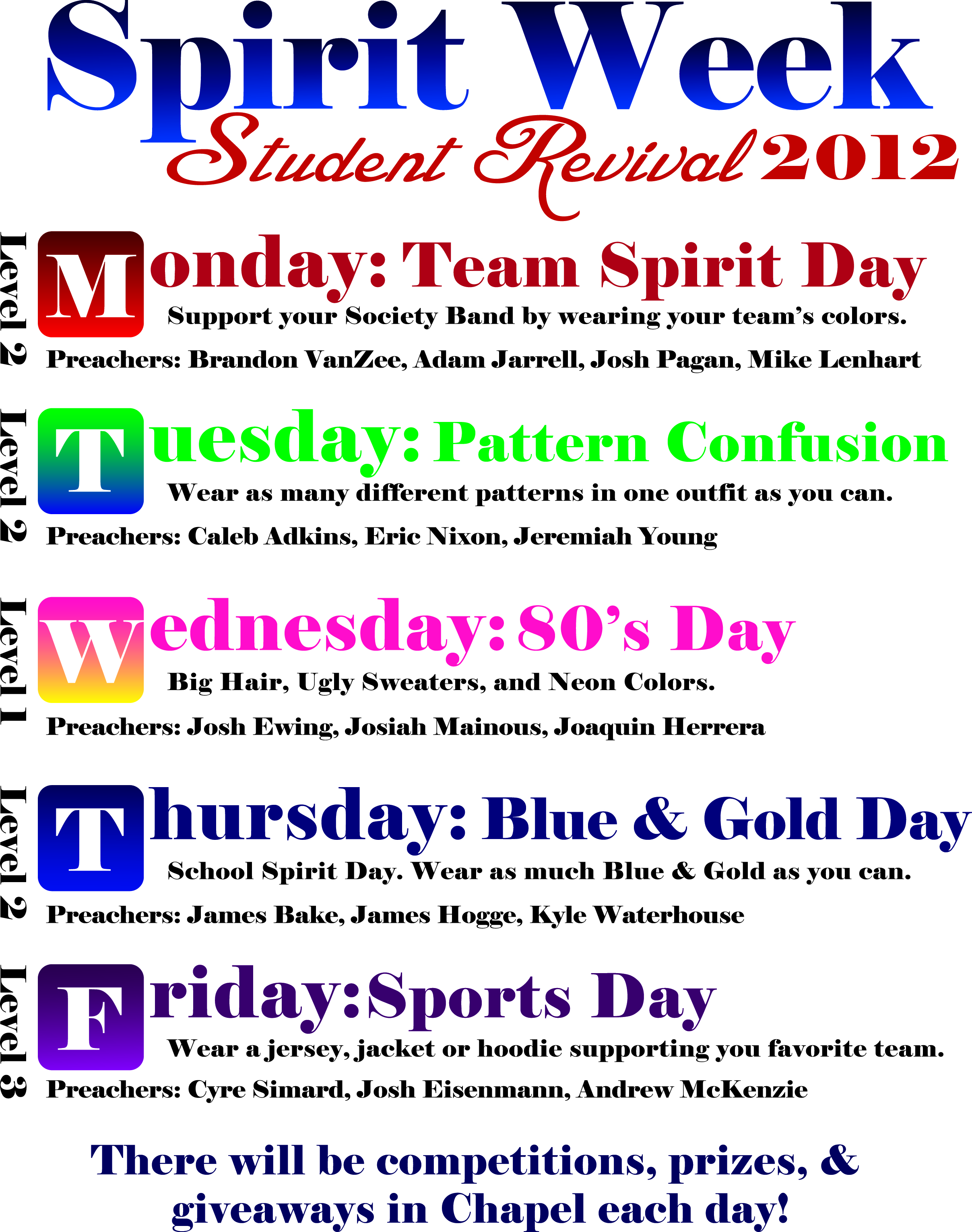 Quotes about Spirit week (13 quotes)