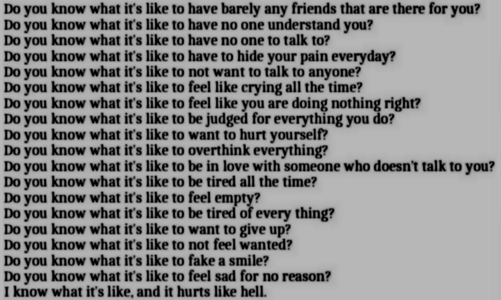 Quotes About Being Depressed 67 Quotes