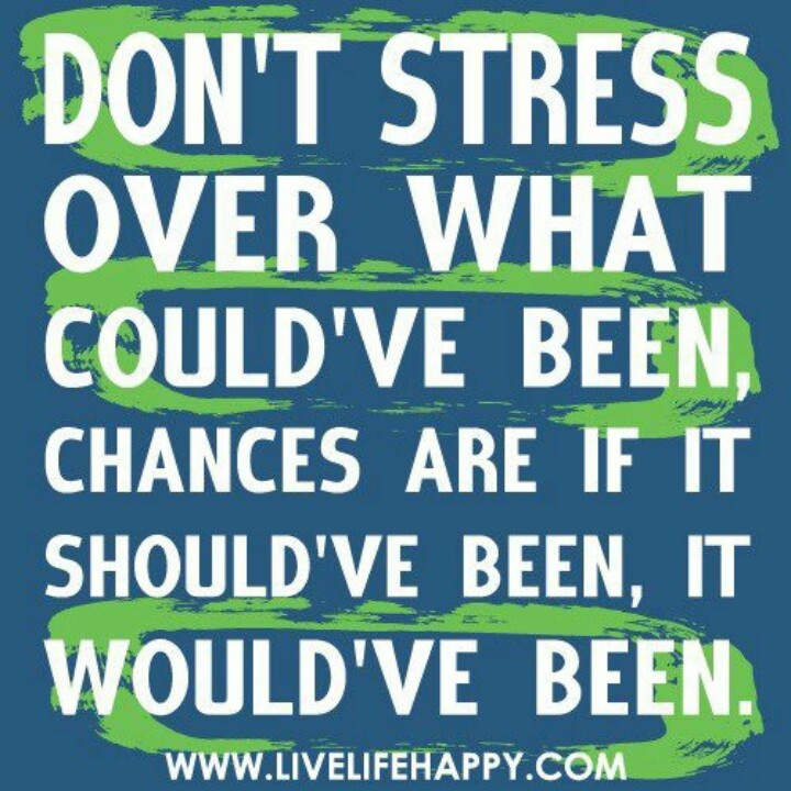 Quotes about Don\'t Stress (115 quotes)