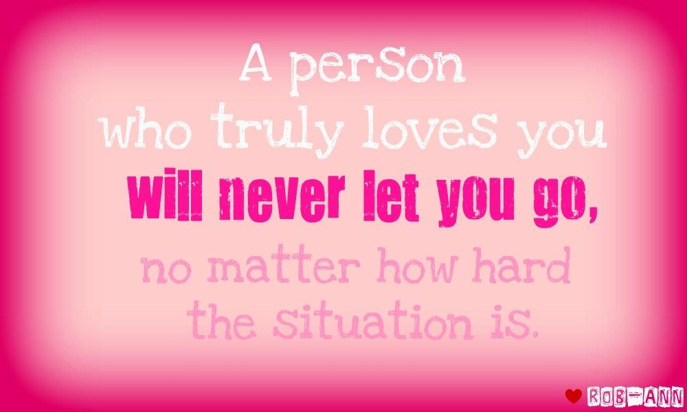 Quotes About Never Let You Go 104 Quotes