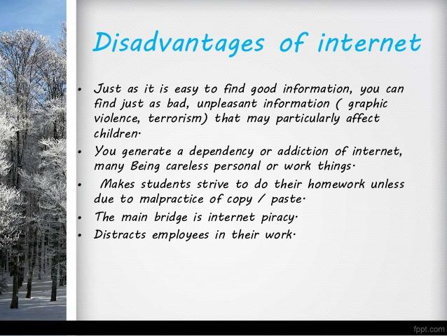 Internet good or bad essay