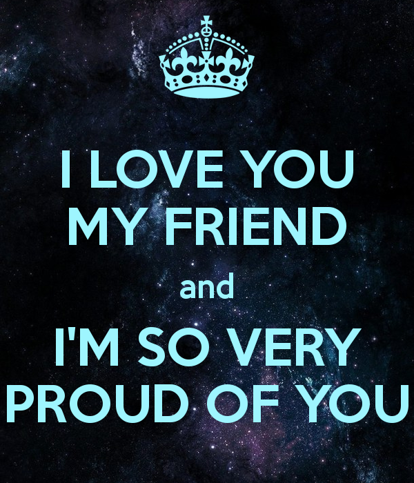 Quotes about Proud friends (47 quotes)
