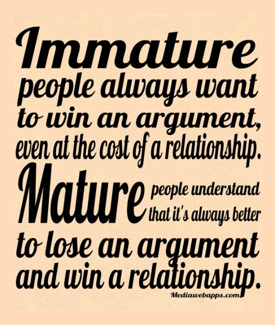 Quotes about Immaturity (57 quotes)