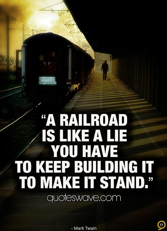 Quotes About Railways 70 Quotes